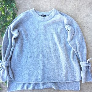Miss Me Wool Mohair Sweater With Sleeve Tie